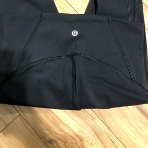 "Lululemon train times 21"" leggings"